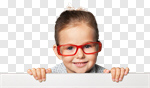 Сlipart kid glasses vision closeup human photo cut out BillionPhotos