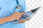 Сlipart Healthcare And Medicine Doctor Medical Exam Computer Nurse photo cut out BillionPhotos