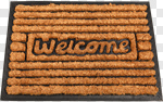 Сlipart Doormat Welcome Sign Greeting Floor Mat Front Door photo cut out BillionPhotos