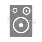 Сlipart Speakers Speaker Loudspeaker Audio Equipment Electronics Industry vector icon cut out BillionPhotos
