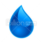 Сlipart Water Drop water drop blue drop raindrop vector icon cut out BillionPhotos