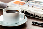 Сlipart Coffee Newspaper Business Breakfast Office photo  BillionPhotos