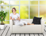 Сlipart Window Sofa Women House Comfortable   BillionPhotos