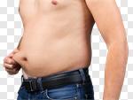 Сlipart Men Dieting Abdomen Overweight Make Over Series photo cut out BillionPhotos