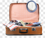 Сlipart travel sunglasses old tour baggage photo cut out BillionPhotos