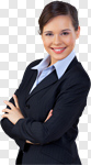 Сlipart Women Business Businesswoman Business Person Smiling photo cut out BillionPhotos