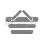 Сlipart Shopping Basket Shopping Plastic Consumerism vector icon cut out BillionPhotos