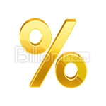 Сlipart per per cent percent percentage price vector icon cut out BillionPhotos