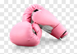 Сlipart Pink Breast Cancer Sports Glove Boxing Glove Breast Cancer Awareness Ribbon photo cut out BillionPhotos