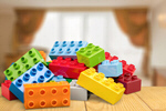 Сlipart Сolorful toy bricks brick rectangle fun green   BillionPhotos