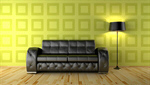 Сlipart Wallpaper Living Room Domestic Room Lamp Sofa 3d  BillionPhotos