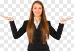 Сlipart Women Business Smiling Cheerful Happiness photo cut out BillionPhotos