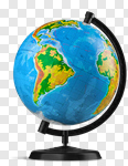 Сlipart globe world save map white photo cut out BillionPhotos