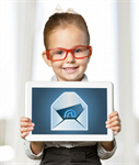 Сlipart kid tablet pad email sign   BillionPhotos