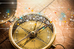 Сlipart Compass Map Journey Cartography Direction   BillionPhotos