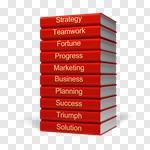 Сlipart Expertise Marketing Wisdom Book Success 3d cut out BillionPhotos