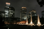 Сlipart Atlanta - Georgia Skyline Georgia Night Fountain photo  BillionPhotos