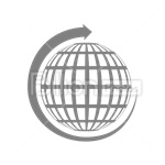 Сlipart Internet Globe global Global Communications network vector icon cut out BillionPhotos