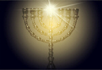 Сlipart menorah hanukkah jewish gold decoration   BillionPhotos