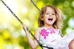 Сlipart Child Playing Playground Little Girls Swing   BillionPhotos