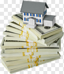 Сlipart House Residential Structure Wealth Loan Paper Currency photo cut out BillionPhotos