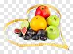 Сlipart Healthy Eating Healthy Lifestyle Dieting Heart Shape Fruit photo cut out BillionPhotos