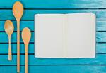 Сlipart notebook old background kitchen wood photo  BillionPhotos