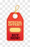 Сlipart Sale Push Button Coupon Label Badge vector cut out BillionPhotos