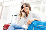 Сlipart Airport Telephone Women Mobile Phone Travel photo  BillionPhotos