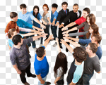 Сlipart Business Teamwork Team Group Of People People photo cut out BillionPhotos