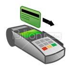 Сlipart credit card card bank card Visa Plastic Card vector icon cut out BillionPhotos