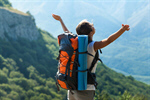 Сlipart arms outstretched asian backpack backpacker bag photo  BillionPhotos
