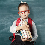 Сlipart book school kid backpack blackboard   BillionPhotos