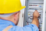 Сlipart electrician repairing test technician electric photo  BillionPhotos