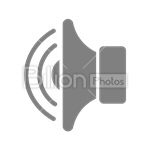 Сlipart Sound Volume Sound Volume Loudness Music vector icon cut out BillionPhotos