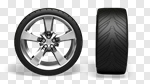 Сlipart Tire Wheel Car Isolated White 3d cut out BillionPhotos