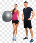 Сlipart fitness trainer training workout man photo cut out BillionPhotos