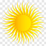 Сlipart Sun Symbol Vector Computer Graphic Illustration and Painting ...