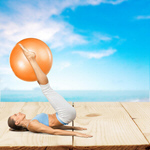 Сlipart Pilates Fitness Ball Yoga Exercising Ball   BillionPhotos