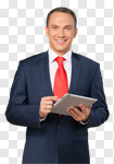 Сlipart Business Businessman Digital Tablet Technology Business Person photo cut out BillionPhotos