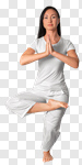 Сlipart meditation exercise yoga pose alone photo cut out BillionPhotos