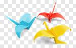 Сlipart Origami Paper Bird Art Common Crane photo cut out BillionPhotos