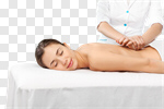 Сlipart back high key masseur hands attractive photo cut out BillionPhotos