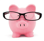 Сlipart Piggy Bank Savings Investment Glasses Intelligence photo  BillionPhotos