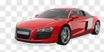 Сlipart Car Sports Car Red Status Car Luxury 3d cut out BillionPhotos