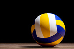 Сlipart Volleyball Ball Sport Black Circle photo  BillionPhotos