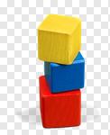 Сlipart Block Toy Preschool Wood Box photo cut out BillionPhotos