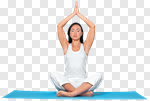 Сlipart Yoga Women Meditating Healthy Lifestyle Relaxation photo cut out BillionPhotos