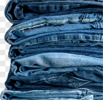Сlipart Jeans Clothing Denim Stack Folded photo cut out BillionPhotos