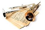 Сlipart Trumpet Jazz Musical Instrument Brass Instrument Sheet Music photo  BillionPhotos